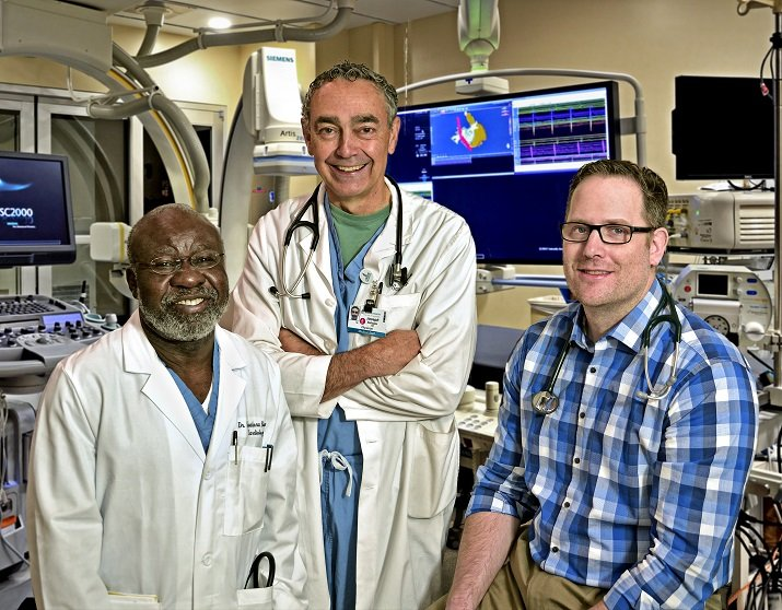 Crouse First in Region to Use New Cardiovascular Device That Reduces