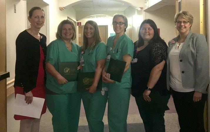 DAISY recipients from Kienzle Family Maternity Center