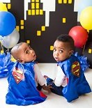 Gavin and Grant Johnson, Crouse Little Fighters