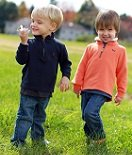 Logan and Declan Powers, Crouse Little Fighters