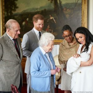 The Royal Family introduce new baby