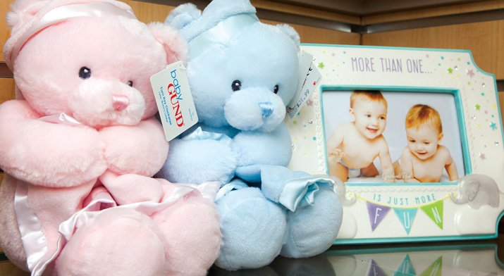 Gifts for babies in the Crouse Gift Shop