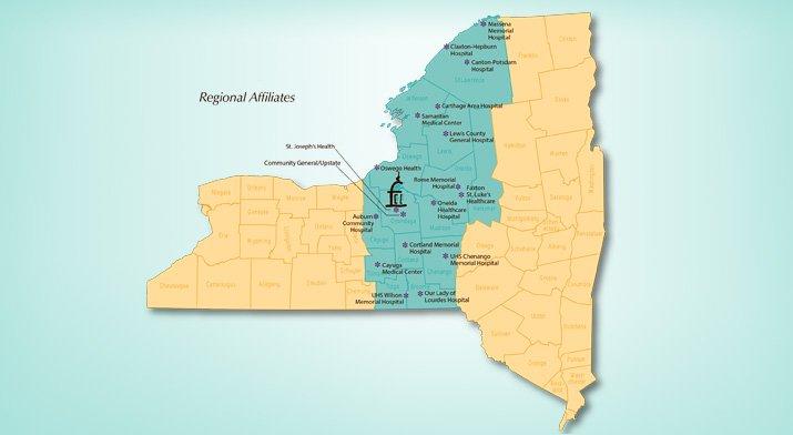 Regional Afflilates of the Regional Perinatal Program