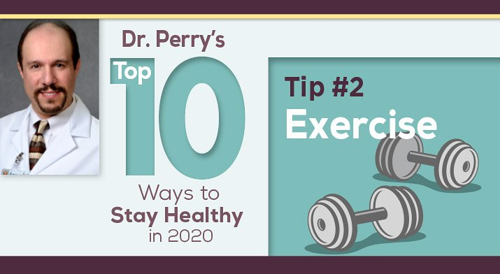 Dr. Perry graphics tips on exercising