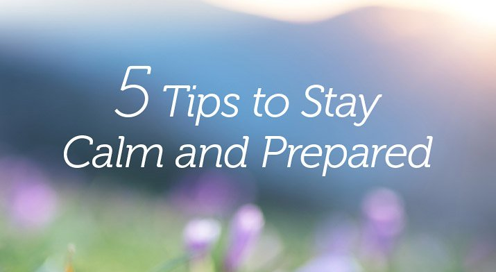 tips to stay prepared