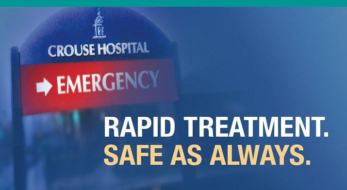 ER - rapid treatment, safe as always