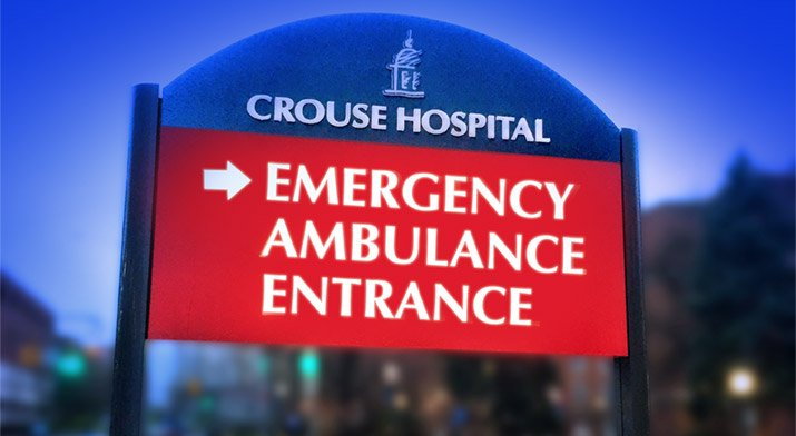 Crouse ER Outdoor Sign