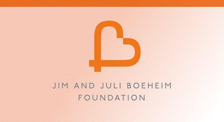 Jim and Juli Boeheim Foundation graphic