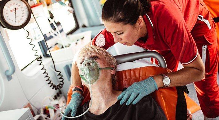 EMT and Patient