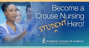 Photo - Become a Crouse Student Nursing Hero