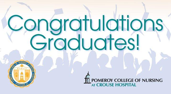 PCON Congratulations Graduates