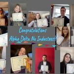 Alpha Delta Nu Inductees