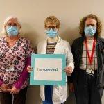 Sue Dingman, Lynne Shopiro, Betty Michiel - Cardiac Services