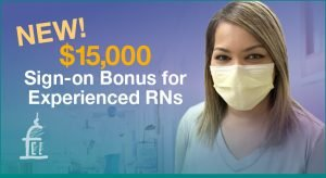 RN sign-on bonus $15,000