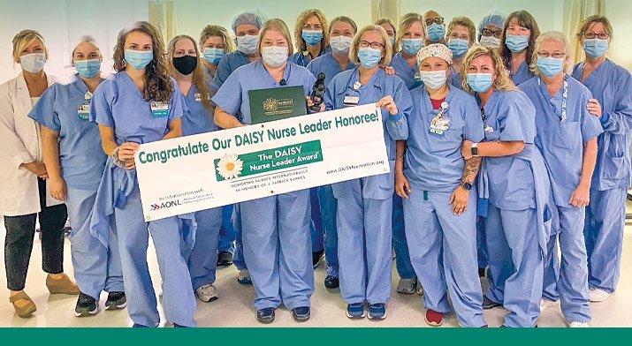 DAISY June 2021 Nurse Leader Award Recipient