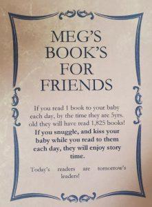 Meg's Books for Friends