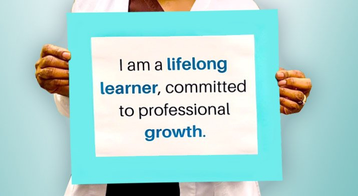 I am a lifelong learner, committed to personal growth