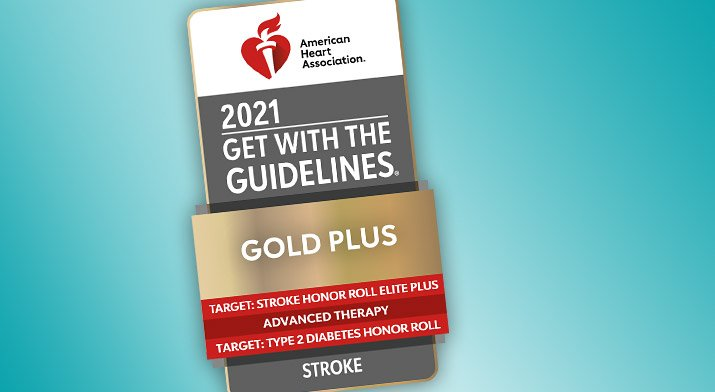 Get With the Guidelines Stroke Award August 2021