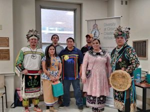 Native American Event at Crouse
