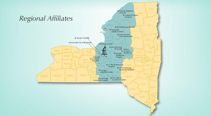 OB Regional Perinatal Program NYS Affiliates